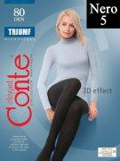 Купить Conte Колготки капроновые Elegant Triumf 80 den Nero (Черный) размер 5-XL