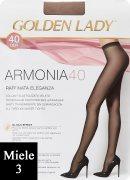 Купить Golden Lady Armonia 40 den Miele (Легкий загар) размер 3-M