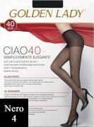 Купить Golden Lady Ciao 40 den Nero (Черный) размер 4-L