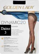 Купить Golden Lady Колготки Dynamic 20 den Daino (Светло-коричневый) размер 3-M