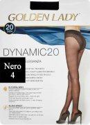 Купить Golden Lady Колготки Dynamic 20 den Nero (Черный) размер 4-L