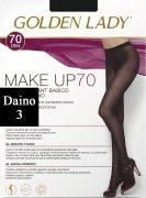 Купить Golden Lady Колготки Make Up 70 den Daino (Светло-коричневый) размер 3-M