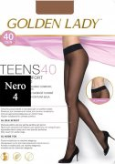 Купить Golden Lady Колготки Teens Vita Bassa 40 den Nero (Черный) размер 4-L