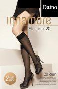 Купить Innamore Гольфы Elastico Lycra 20 den Daino (Светло-коричневый) 2 пары