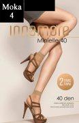 Купить Innamore Носочки Minielle 40 den Nero (Черный) 2 пары