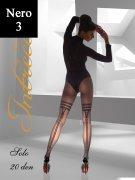 Купить Intressio Колготки Solo 20 den Nero (Черный) размер 3-M