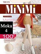 Купить MiNiMi Колготки Marseille 100 den Moka (Шоколад) размер 4-L