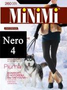 Купить MiNiMi Колготки Piuma 260 den Nero (Черный) размер 4-L