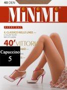 Купить MiNiMi Колготки Vittoria 40 den Cappuccino (Капучино) размер 5-XL