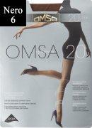 Купить Omsa Колготки Attiva с шортиками 20 den Nero (Черный) размер 6-XXL