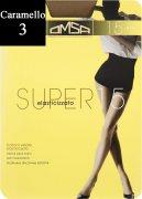 Купить Omsa Колготки Super 15 den Caramello (Бежевый) размер 3-M