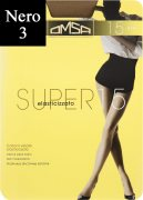 Купить Omsa Колготки Super 15 den Nero (Черный) размер 3-M