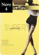Купить Omsa Колготки Super 15 den Nero (Черный) размер 4-L
