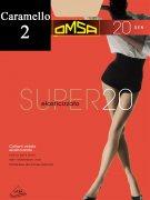 Купить Omsa Колготки Super 20 den Caramello (Бежевый) размер 2-S
