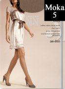 Купить Sisi Колготки Miss прозрачные эластичные 20 den Moka (Шоколад) размер 5-XL