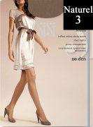 Купить Sisi Колготки Miss прозрачные эластичные 20 den Naturel (Натуральный) размер 3-M