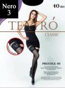 Купить Teatro Чулки Classic Prestige 40 den Nero (Черный) размер 3-M