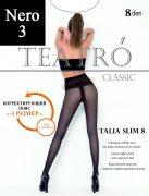 Купить Teatro Колготки Classiс Talia Slim 8 den Nero (Черный) размер 3-M