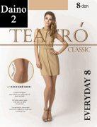 Купить Teatro Колготки Classiс Everyday 8 den Daino (Светло-коричневый) размер 2-S