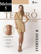 Купить Teatro Колготки Classiс Everyday 8 den Melon (Телесный) размер 5-XL
