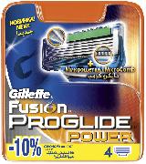 Купить Gillette кассеты для бритья сменные мужские Fusion ProGlide Power 4шт