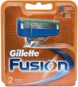 Купить Gillette кассеты для бритья сменные мужские Fusion 2шт