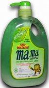 Купить Lion Mama Lemon Refreshing Green Tea Концентрированное средство для мытья посуды и детских принадлежностей антибактериальное с Ароматом Зеленого чая 1000мл