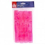 Купить Dewal бигуди-липучки 12 шт розовые, 24 мм