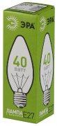 Купить Эра Лампа накаливания свеча E27 40W