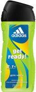 Купить Adidas гель для душа мужской 250мл Get Ready