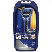 Купить Gillette станок для бритья мужской многоразовый Fusion ProGlide с 1 сменной кассетой