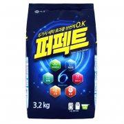 Купить Aekyung стиральный порошок Perfect 6 Solution 3,2кг концентрированный универсальный в мягкой упаковке