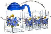 Купить Olaff SLD-7DS915-B-005 Набор для воды 7 предметов (кувшин и 6 стаканов на подставке)