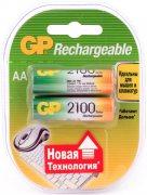 Купить GP аккумулятор R06 2100mah AA пальчиковый, цена за 2шт
