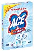 Купить Ace Oxi Magic White пятновыводитель 500г для белого белья