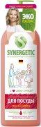 Купить Synergetic гель для мытья посуды антибактериальный 1л Сочный арбуз