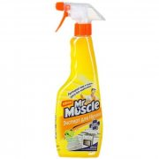 Купить Mr. Muscle Чистящее и моющее средство для кухни 450мл спрей Свежесть лимона