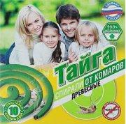 Купить Тайга Спирали инсектицидные от комаров древесные 10шт