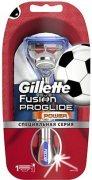 Купить Gillette станок для бритья мужской многоразовый Fusion ProGlide Power Silver F1 с 1 сменной кассетой