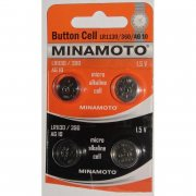 Купить Minamoto батарейка LR1130/390/AG10 алкалиновая 1,5v, цена за 1шт