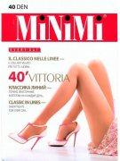 Купить MiNiMi Колготки Vittoria 40 den Nero (Черный) размер 5-XL