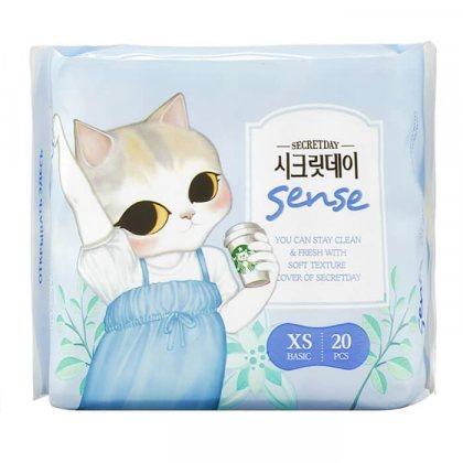 Secret Day Sence прокладки ультратонкие дышащие органические 15,5 см 20шт