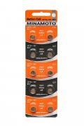 Купить Minamoto батарейка LR726/397/AG2 1,5v, цена за 1шт