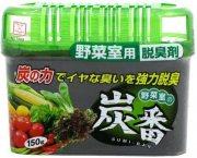 Купить Kokubo Sumi-Ban дезодорант-поглотитель запахов с древесным углем для овощной полки холодильника 150г