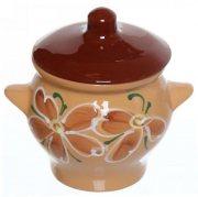 Купить Борисовская керамика Горшок для жаркого №6 650мл