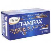 Купить Tampax тампоны Super Plus 16шт 4 капли с аппликатором