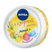 Купить Nivea крем для лица и тела 50мл Soft Интенсивный увлажняющий Я озорной ананас