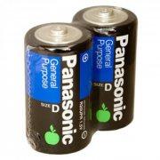 Купить Panasonic батарейка R20 солевая, цена за 1шт