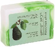 Купить Кафе Красоты le Cafe de Beaute мыло твердое кусковое глицериновое 100г Зеленый микс