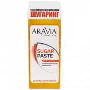 Купить Aravia Professional сахарная паста для шугаринга 150г Натуральная мягкой консистенции